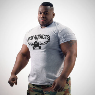 IRON ADDICTS GYM T-SHIRT