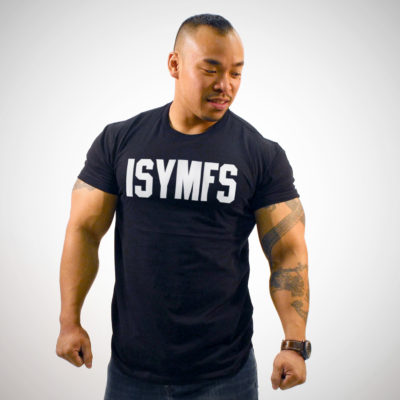 ISYMFS BLOCK T-SHIRT