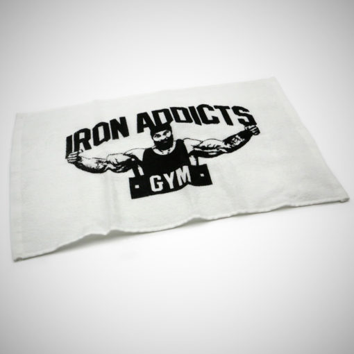 IRON ADDICTS GYM TOWEL