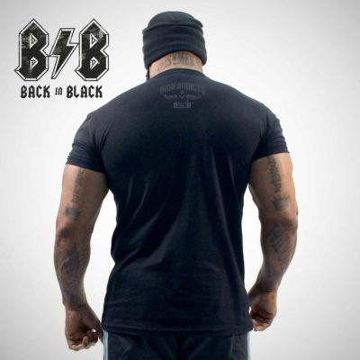 "I'M BLESSED ""BACK IN BLACK"" SERIES T- SHIRT"